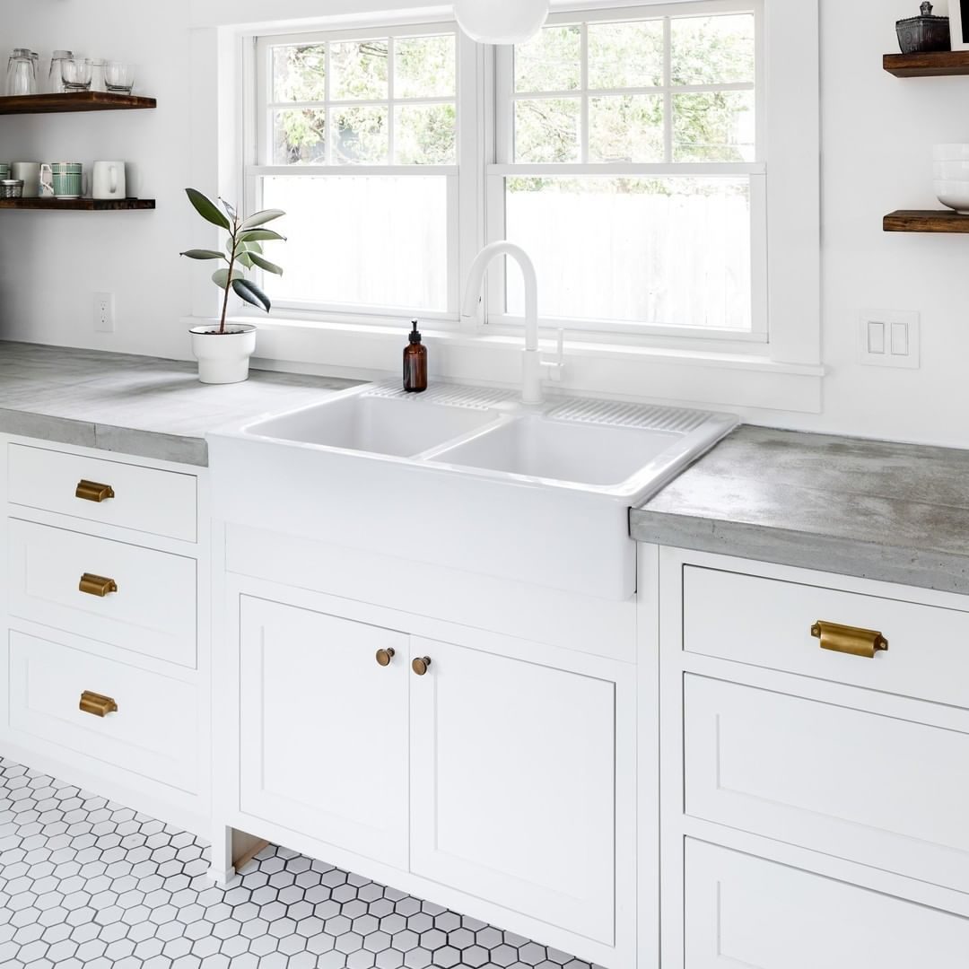Don T You Love A Clean And Bright Kitchen Cliqstudios Austin Cabinets In White Paint Kitche Ikea Galley Kitchen Galley Kitchen Design Galley Kitchen Remodel
