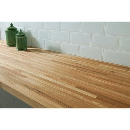 White Oak Butcher Block Countertop 12ft Butcher Block Countertops Floor Decor Butcher Block Countertops Kitchen Wooden Countertops Kitchen Butcher Block Countertops