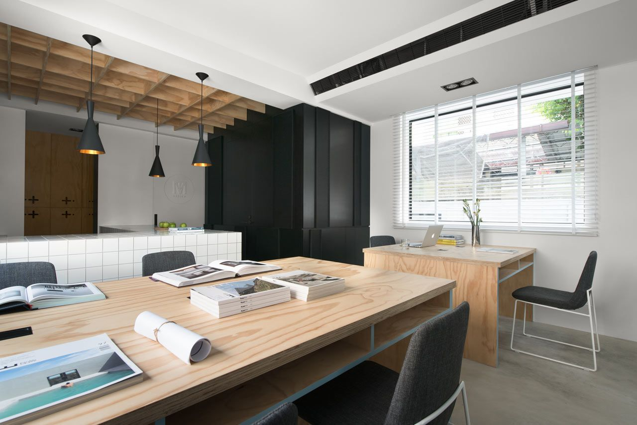 A Modern House In Taichung That Combines Work And Home Life With