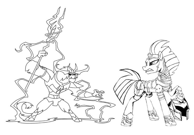 My Little Pony Tempest Coloring Pages