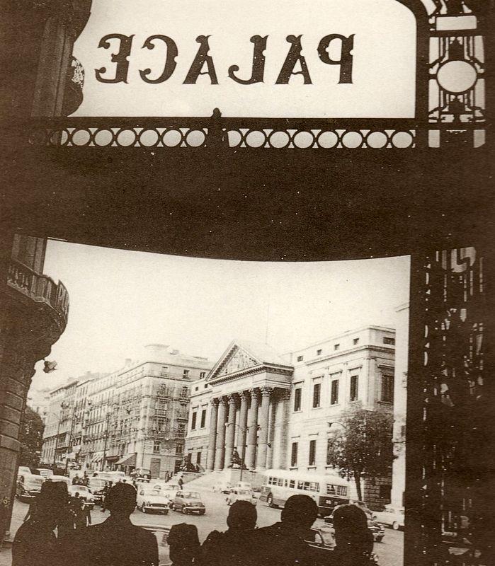 """CONGRESO DE LOS DIPUTADOS, DESDE EL """"HOTEL PALACE"""" - 1958"""