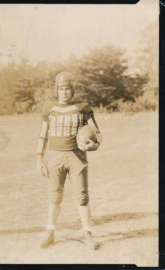 #TBT  Football 82 years ago at Lynchburg College  Henry Johnson Haggard in 1932