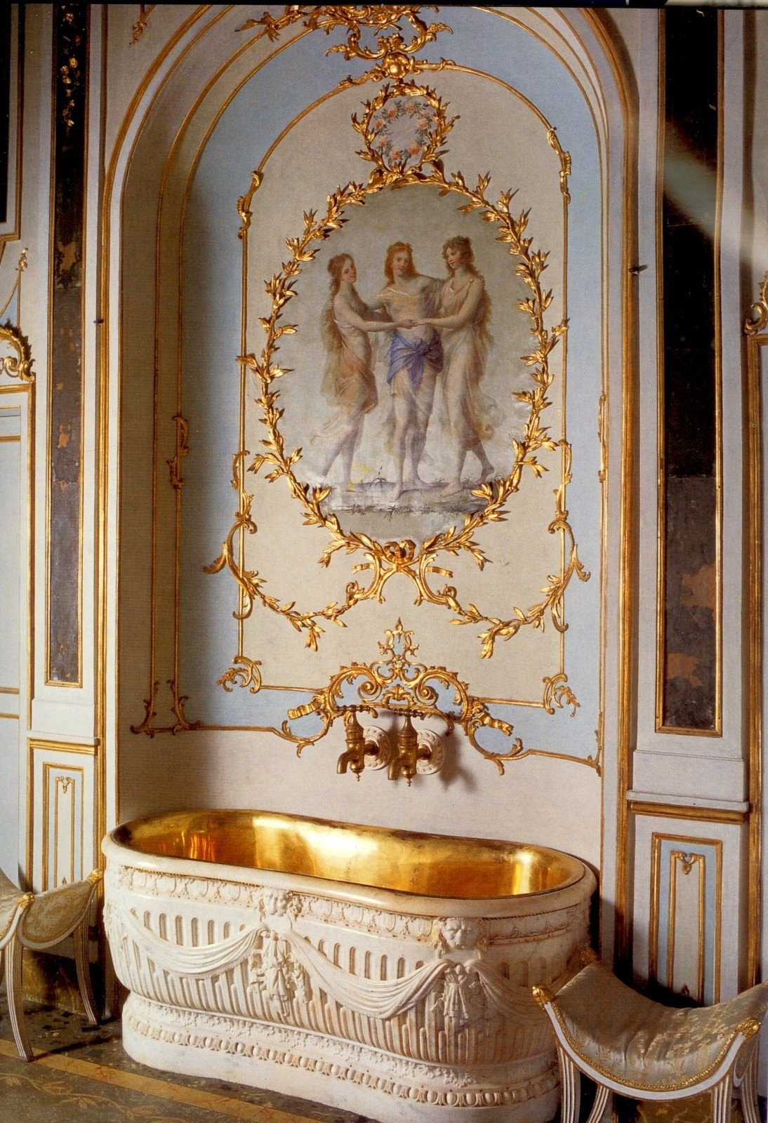 Marie Antoinette Inspired Bedroom