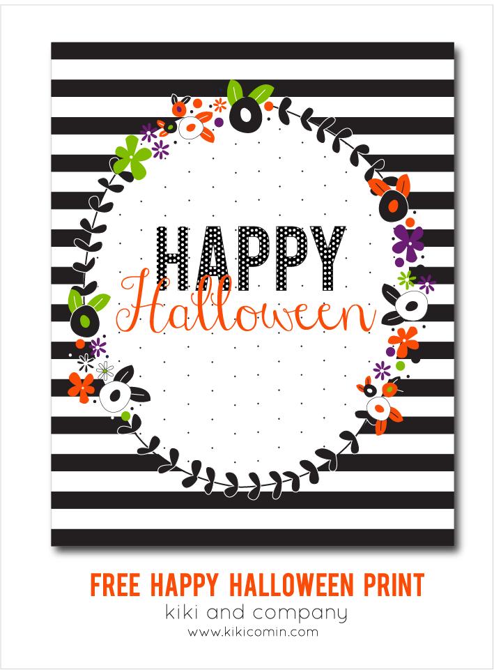 image regarding Happy Halloween Cards Printable named Free of charge Satisfied Halloween Print absolutely free printable All Season