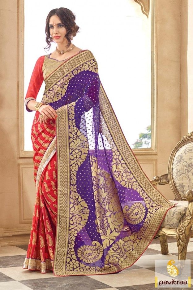 Designer sarees online shopping with price for wedding
