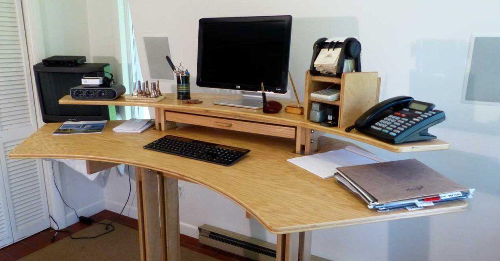 Cómo hacer que tu mesa de PC sea cómoda y ergonómica ...