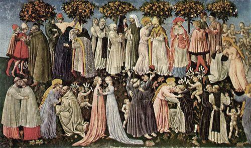 Resultado de imagen de Giovanni di paolo. El juicio final