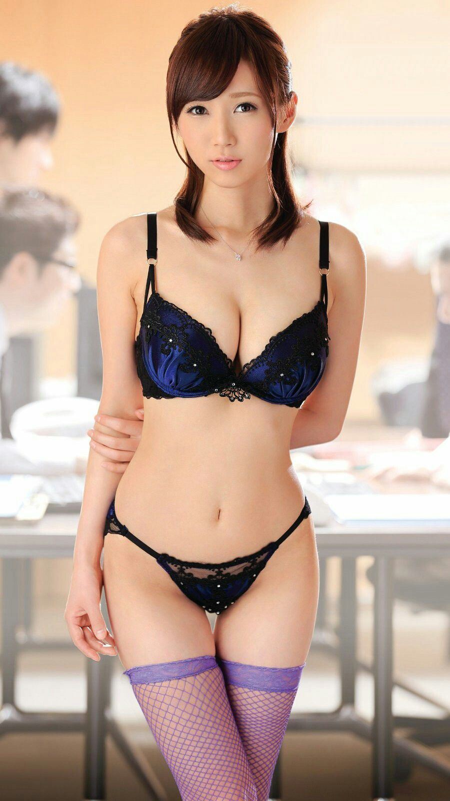 Asians in lingerie pics
