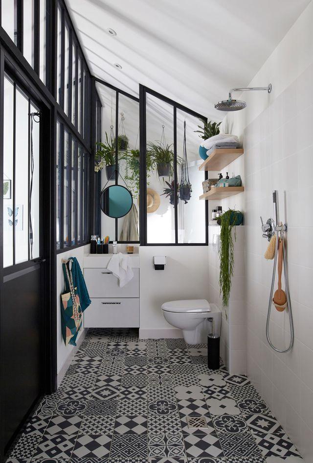 Salle de bains blanche  10 idées déco pour lui donner du style