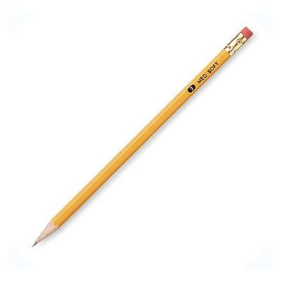 Integra No.2 Wood-Case Pencils, Yellow