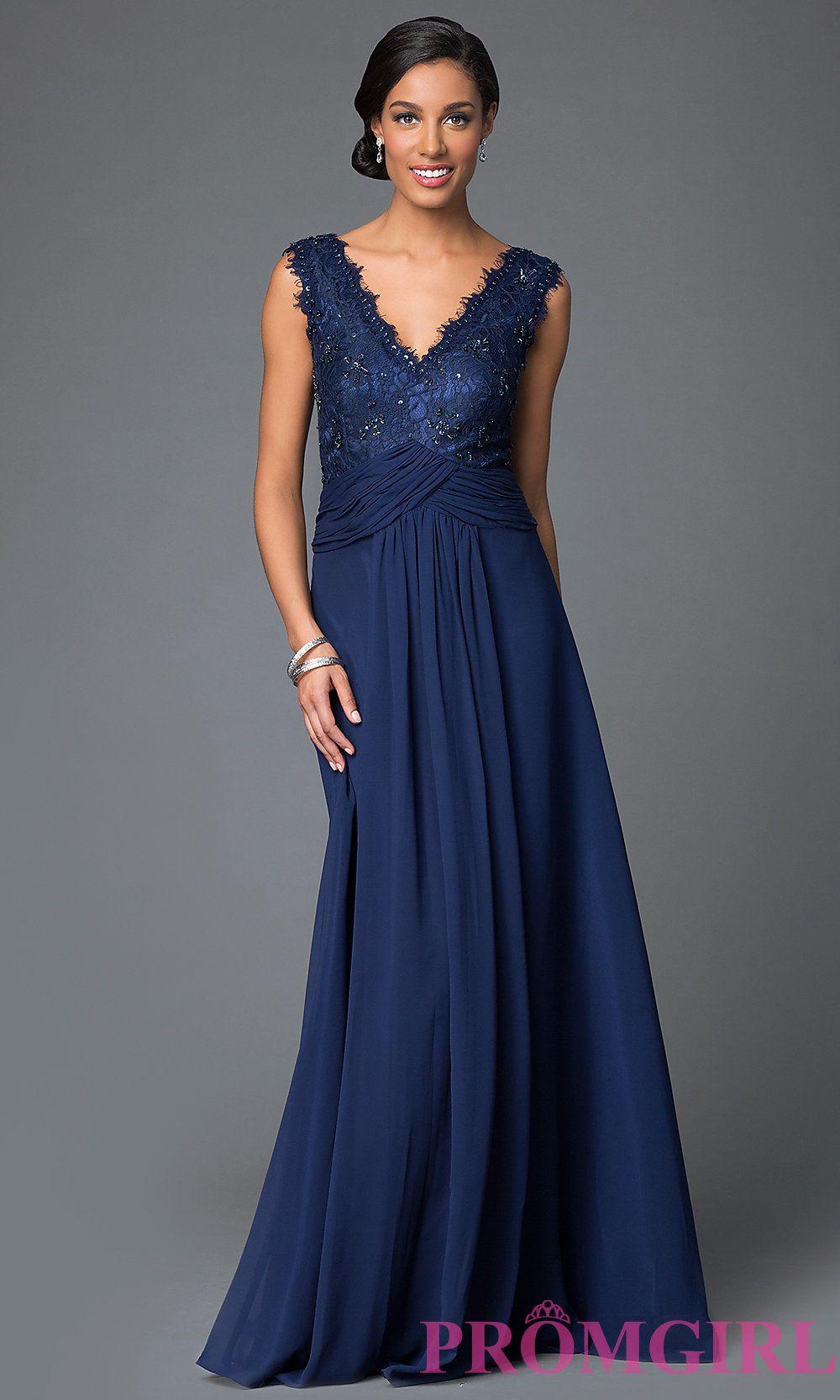 MOB Formal Long Sleeveless Dress