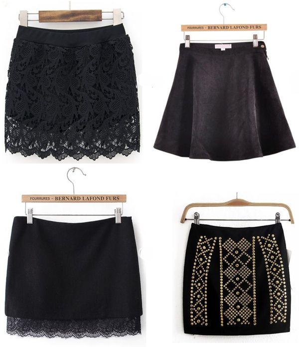 c35b4a6a5 Modelos de faldas negras cortas #cortas #faldas #modelos ...