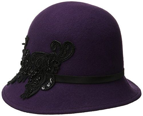 San Diego Hat Company Women's Wool Felt Cloche Hat with S... https://www.amazon.com/dp/B00WWIG2LO/ref=cm_sw_r_pi_dp_x_Ig4sybYRWXSZH
