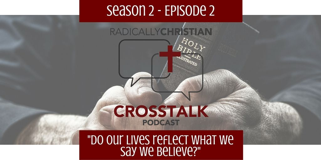 In this episode of the CrossTalk podcast, James, Wes, and Sam discuss the fact that we often quote Scripture and state theological truths, but our lives don't always reflect that we really be…