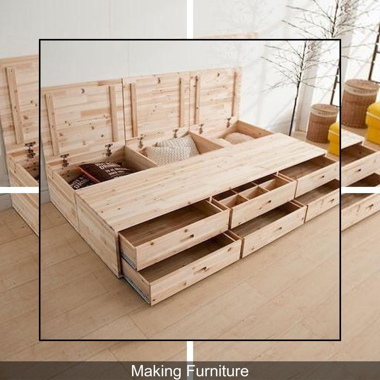 Diy Furniture Making Diy Home Building Self Made Wood