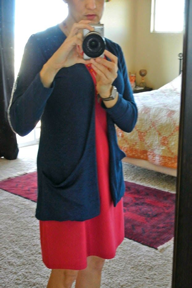 The Navy Blue of India: Jalie 3248: Spring Cardigan