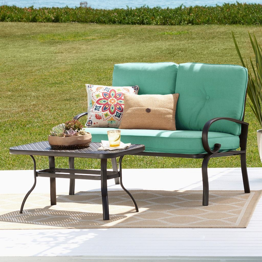 Best Sonoma Goods For Life Claremont Patio Loveseat Coffee 400 x 300
