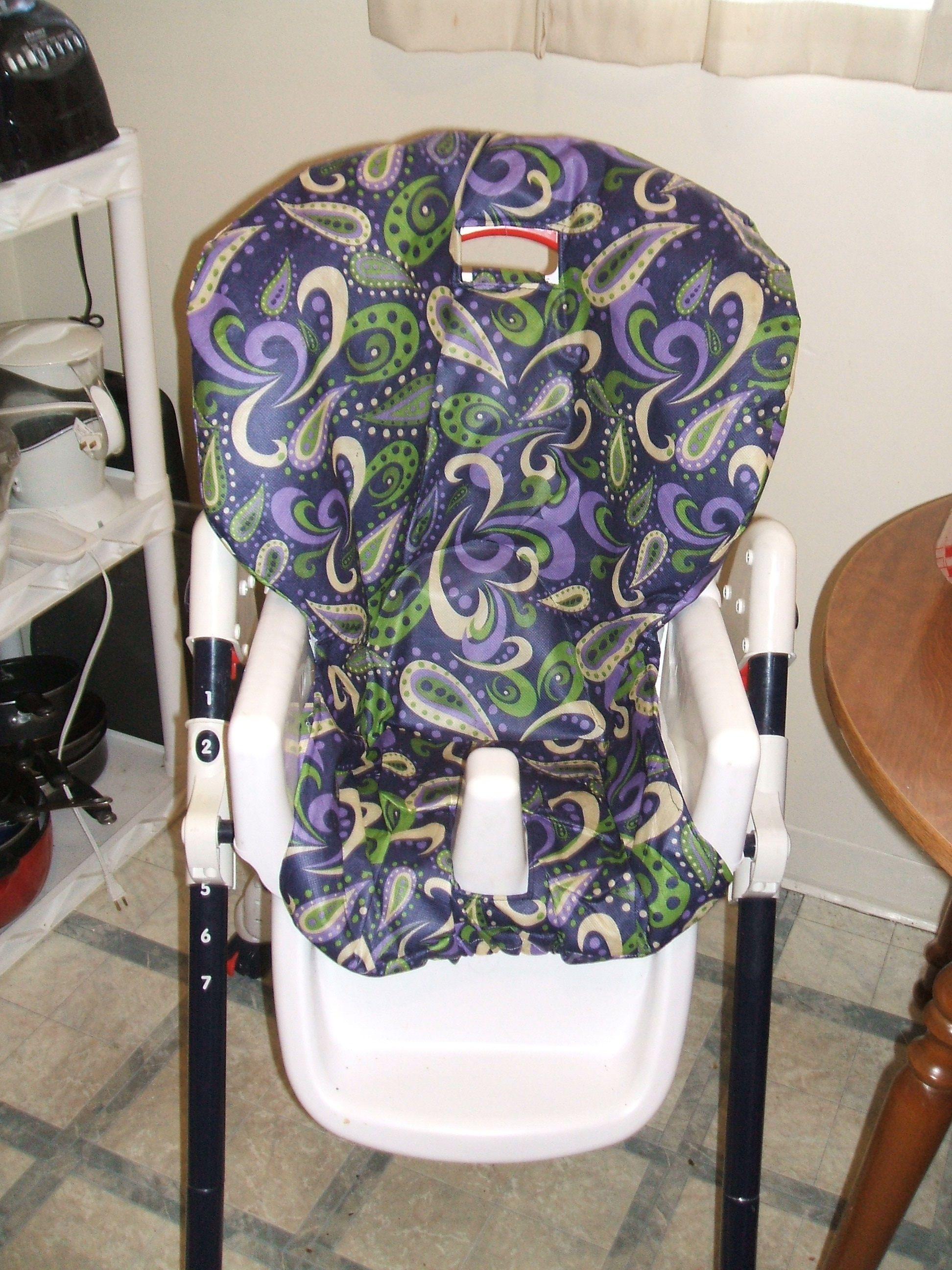 DIY High Chair Revamp … | Things to sew | Pinterest | Möglicherweise ...