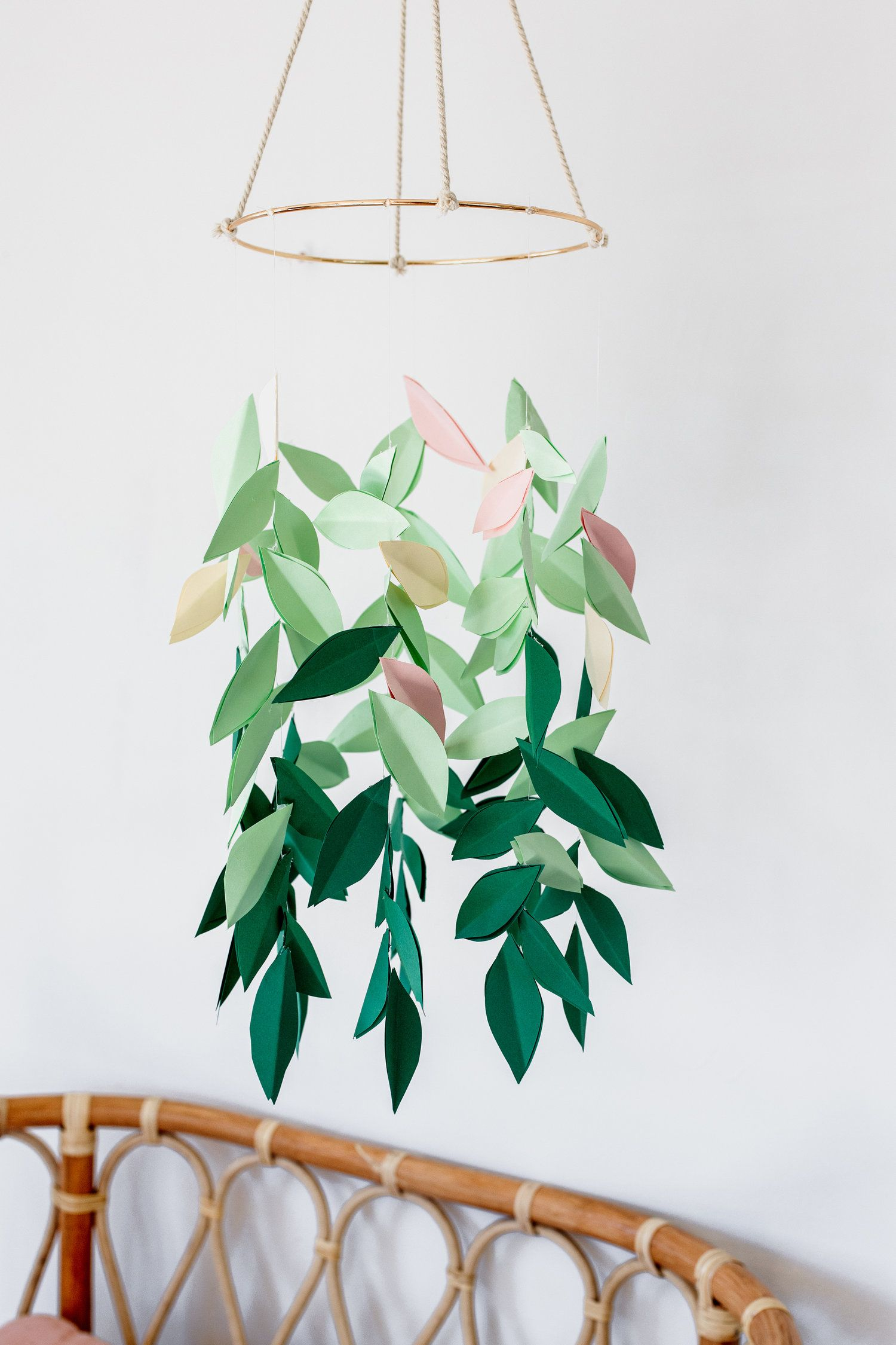 Photo of DIY Paper Leaf Mobile — Clever Poppy