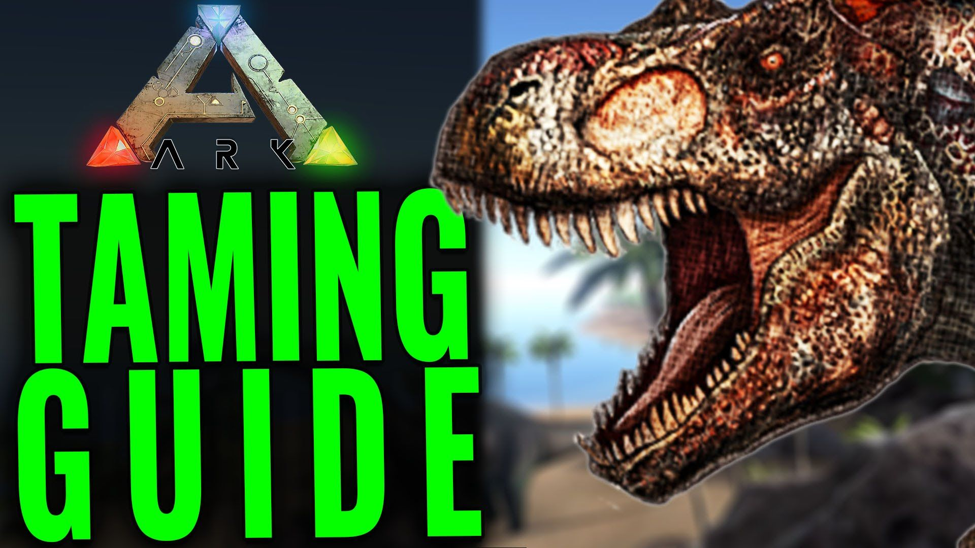 Ark Survival Evolved Is All About Taming Dinos And The Trike One Of Best Ones To Start With It S Tough Knock Out But Its Rewards Are Huge