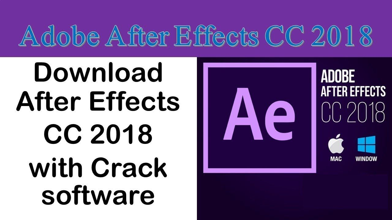 How To Download After Effects Cc 2018 Full Version For Free 100