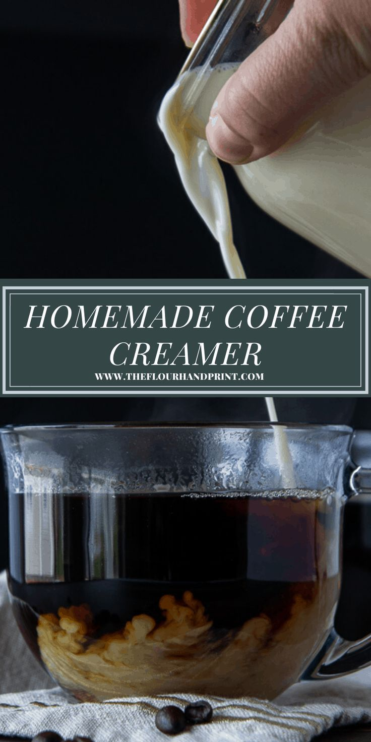 Homemade Coffee Creamer Recipe in 2020 (With images