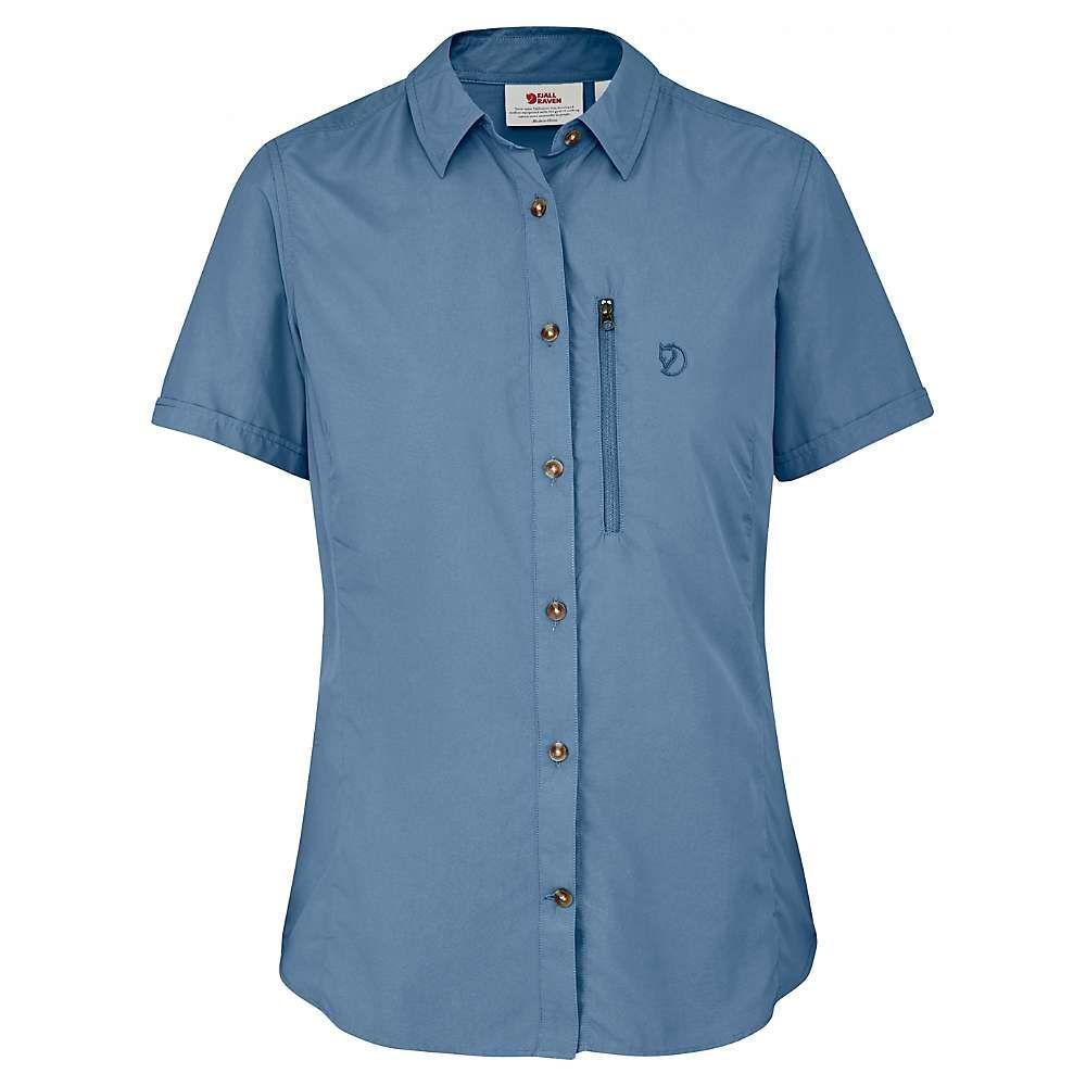 Fjallraven Womens Abisko Hike Ss Shirt Products Pinterest 35 Green Small Blue Ridge Short Sleeve Shirts