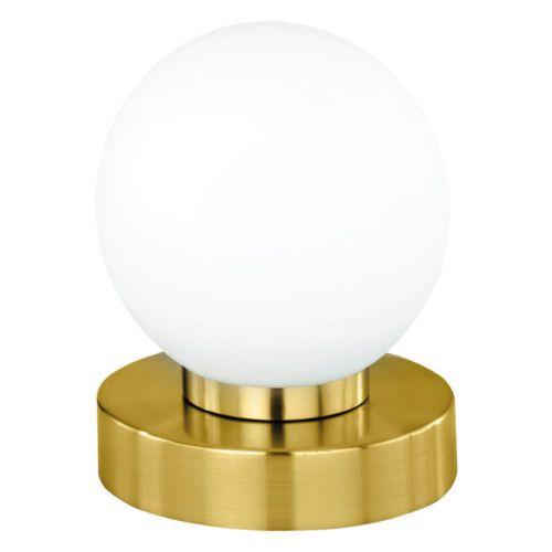 Kugeltischleuchte Nachttischlampe Touchschalter Tischleuchte Lampe Kugel Glas Lamp Decor Egg Cup