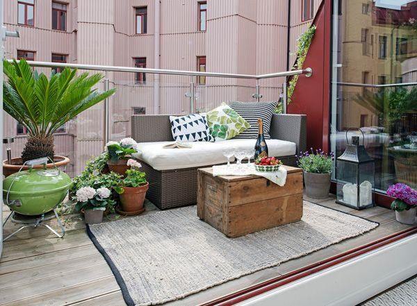 30 Small Balcony Designs And Decorating Ideas In Simple Beautiful Swedish Style
