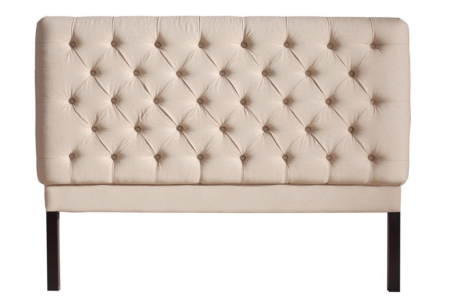 York Sänggavel, 180 cm Beige - The Home - finns även i grafit!