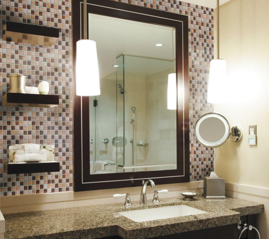Creative Ideas For Bathroom Backsplashes Backsplash Bathroom