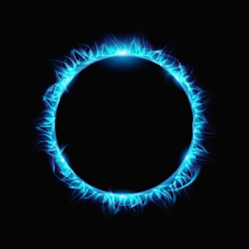 Blue Fire Circle Png Llllline In 2021 Fire Icons Light Background Images Png Images For Editing