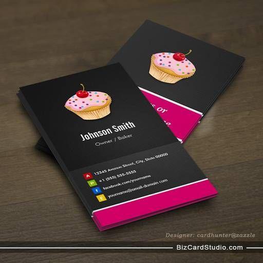 Sweet cupcakes bakery creative innovative business cards bakery sweet cupcakes bakery creative innovative business cards colourmoves Images