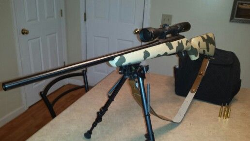 My Tikka T3 in  308  Custom paint by yours truly  | GUNS | Guns