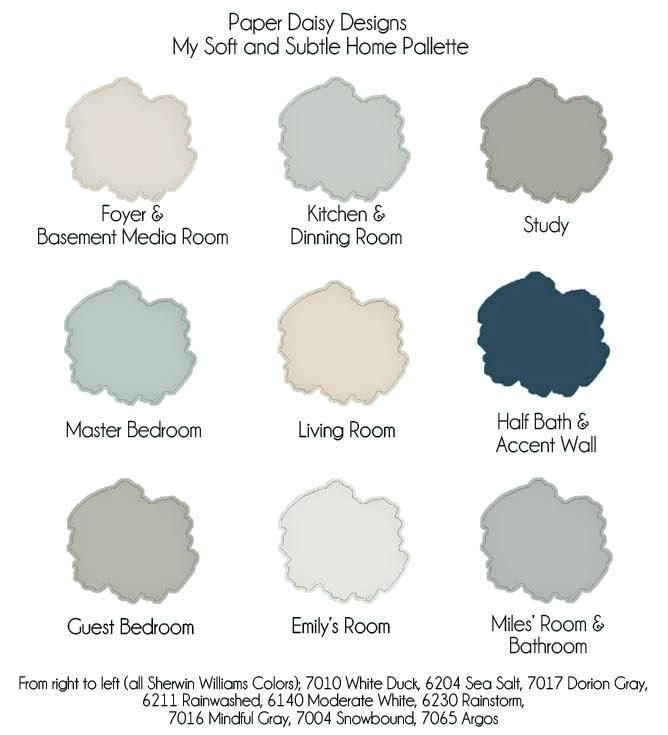 what colors go with sherwin williams sea salt the power of ...