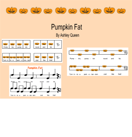 FREE DOWNLOAD - Pumpkin Fat - Elementary General Music Resources ...