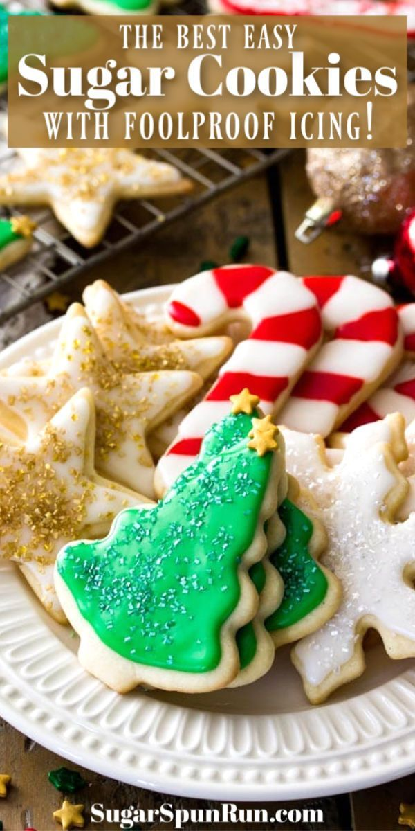 Easy Sugar Cookie Recipe (With Icing!)