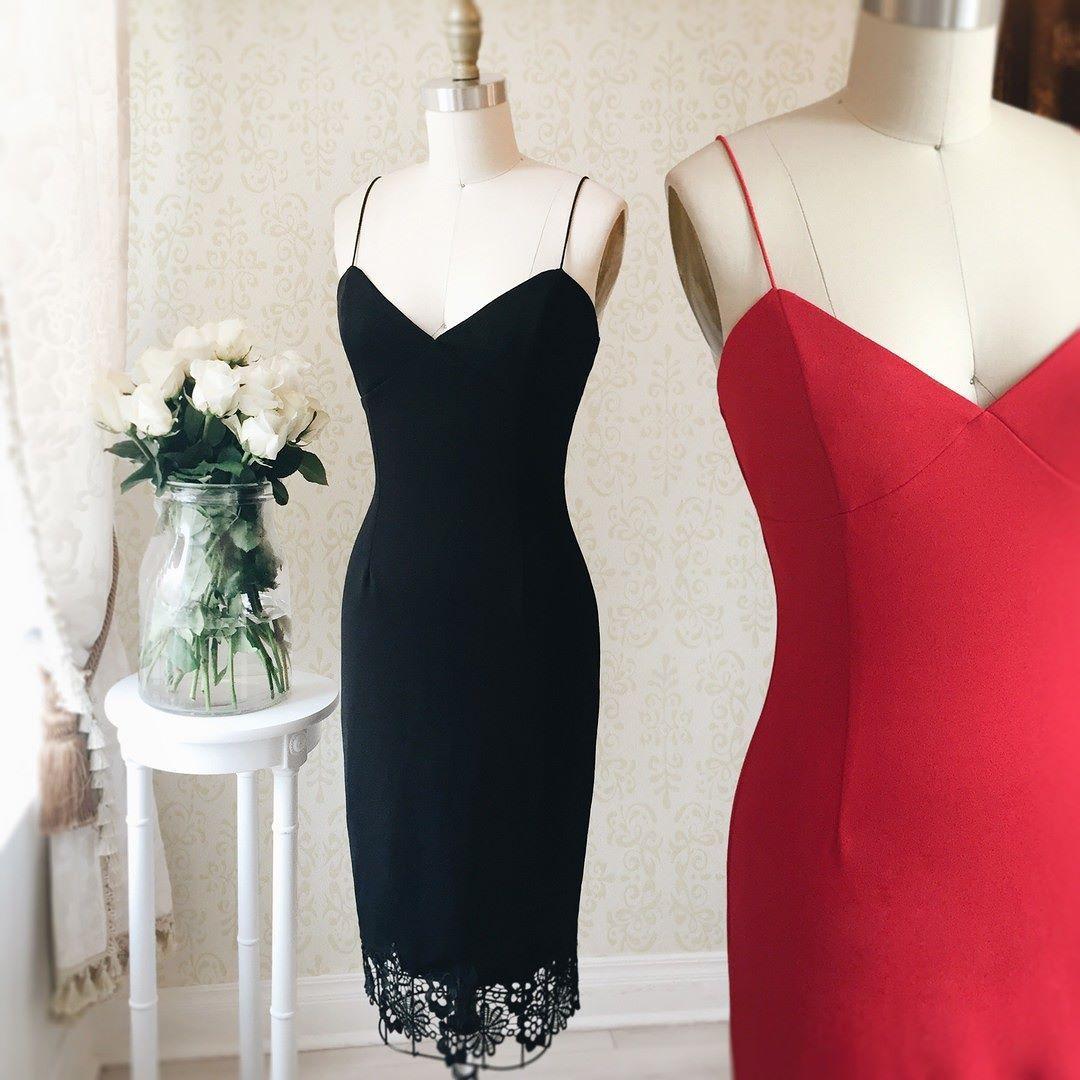 Boti secret et passion boutique black dress pinterest