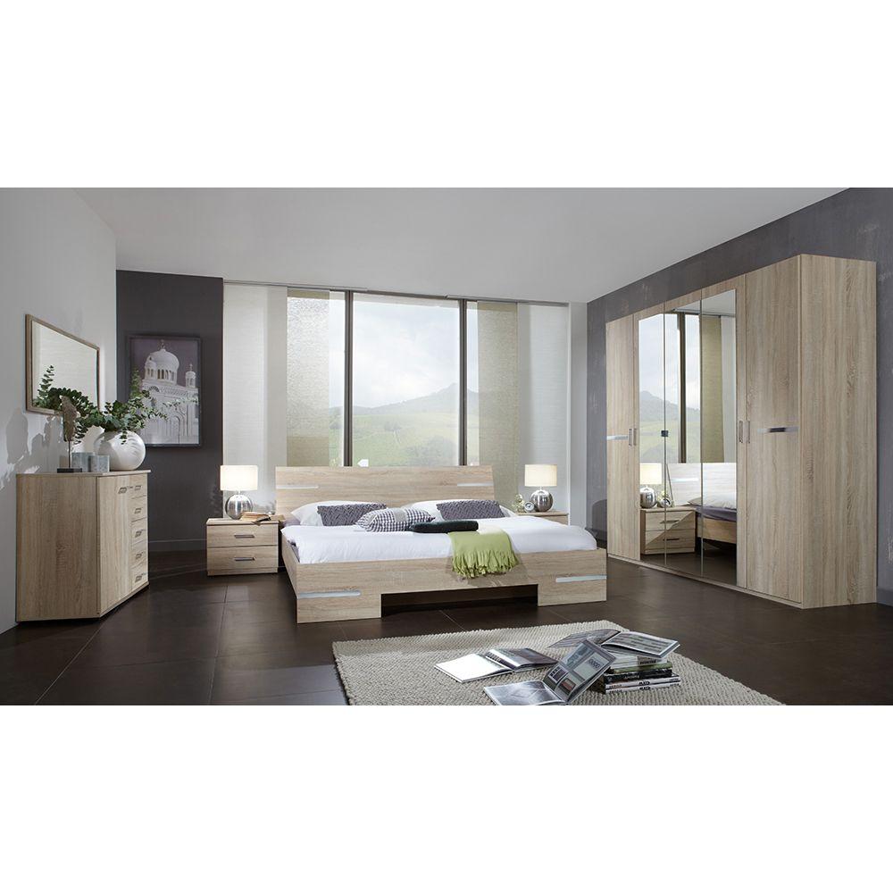 Schlafzimmer Set Anna Bett 180x200 mit 5trg