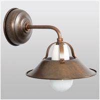 Applique Lampe Rustique Cuir Antique