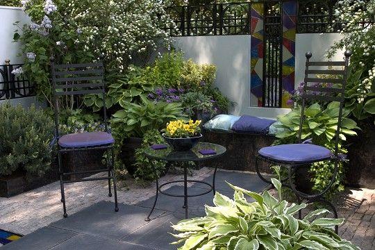 Decoracion de terrazas con plantas Aptos Pinterest Terrazas - decoracion de terrazas con plantas
