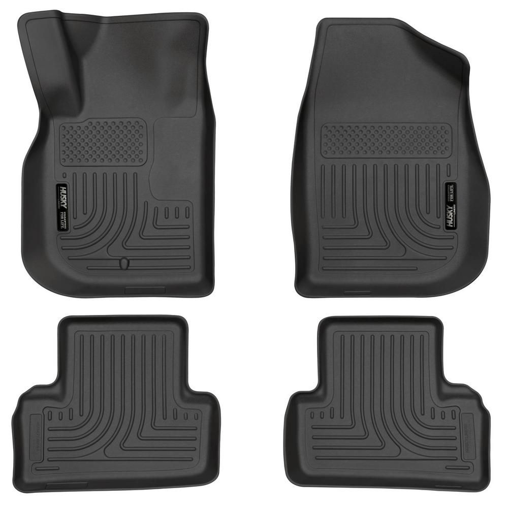 Husky Liners Front & 2nd Seat Floor Liners Fits 0510
