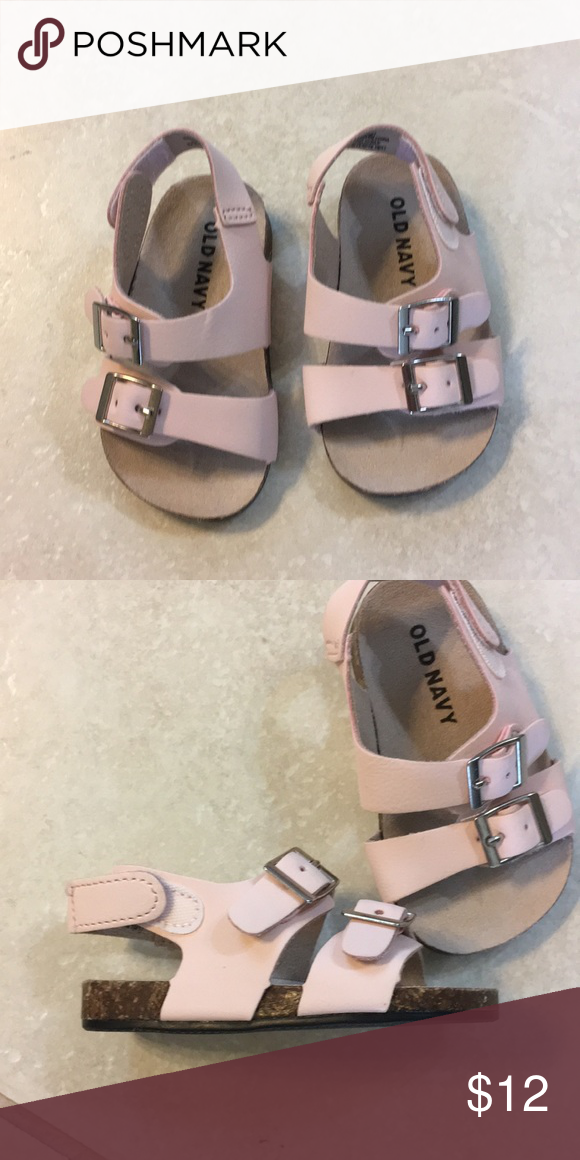 Baby Girl Light Pink Sandals Old Navy Pink Sandals Navy Shoes Old Navy