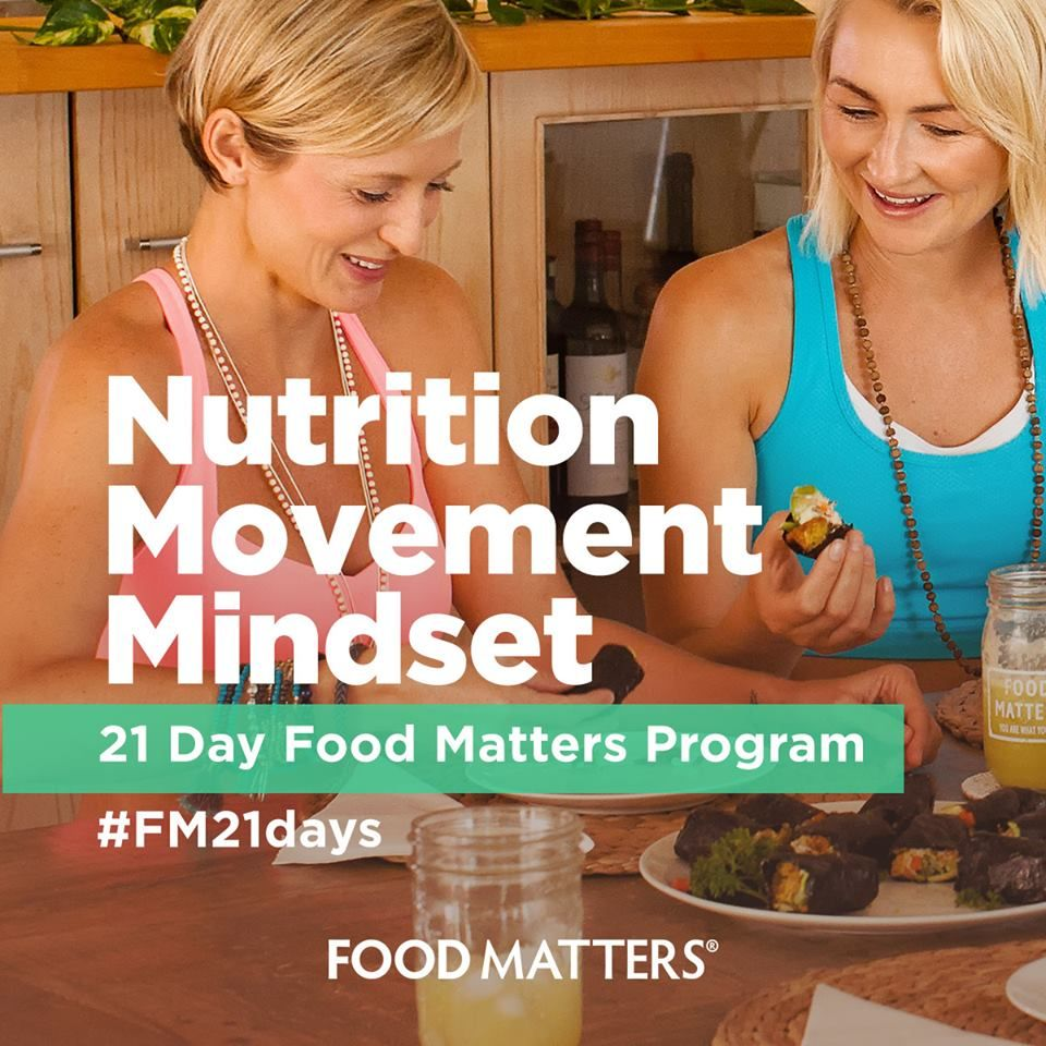 If you're looking to reverse symptoms like fatigue, stubborn weight, thinning hair, low libido, irregular periods, gas, bloating and brain fog then this program is a must. We want you to feel healthy, energized, and excited, every single day which is why we created our NEW 21-Day Food Matters Program on FMTV!   Secure your personal invite to join the program on FMTV! http://bit.ly/FM-21-Day-Program