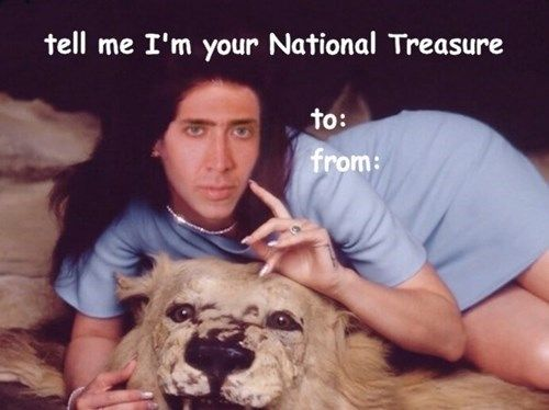 Nick Cage Valentines Cards Are Weird – Funny Valentines Day Cards Meme