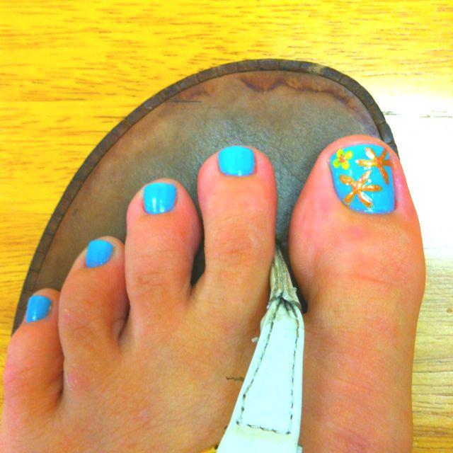 e8db0b6d36e5 Starfish toe-nails