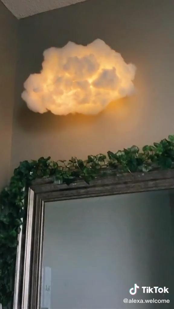 Photo of DIY cloud lamp