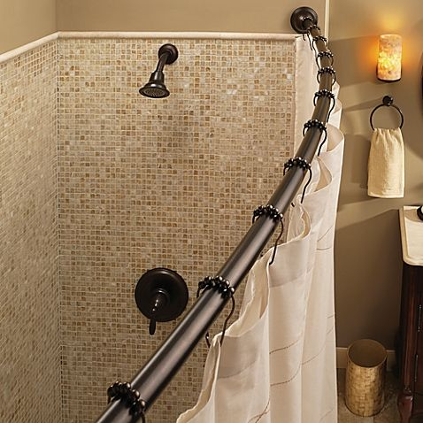 Transform Your Bathroom With The Moen Adjustable Curved Shower