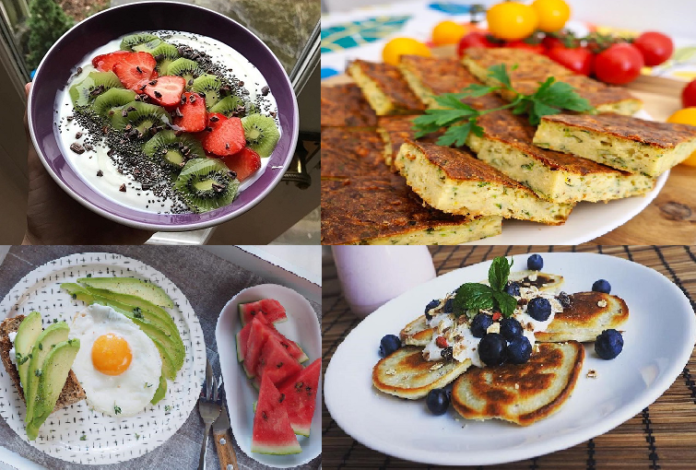 Fitness snídaně