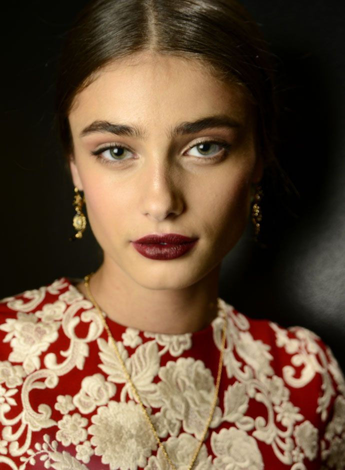 Dolce&Gabbana Spring Summer 2015 women`s fashion show backstage: casting - Taylor Hill (IMG)